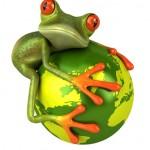 Grenouille protège le monde